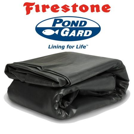 Firestone PondGard - 15 ft. x 20 ft. 45 Mil EPDM Pond Liner w/ 20-Year Warranty