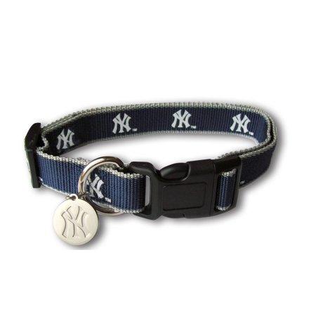 Sporty K9 MLB New York Yankees Reflective Dog Collar, Medium