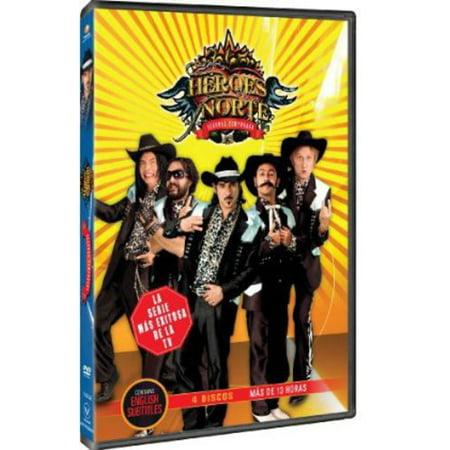 Los Heroes Del Norte: Segunda Temporada (DVD) (Los Tigres Del Norte La Puerta Negra)
