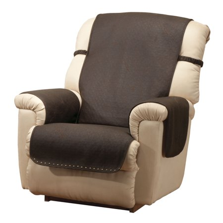 leather look recliner chair cover