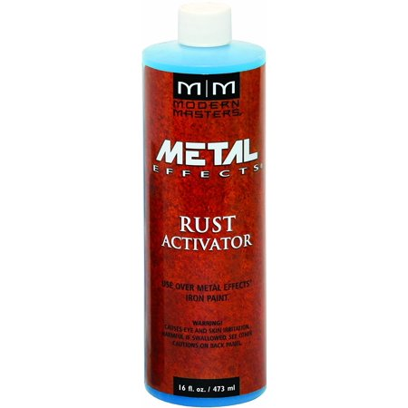 Modern Masters Patina Solution & Rust Activator - 16 Oz.