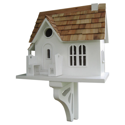 Home Bazaar Classic Series Cozy Cottage Birdhouse