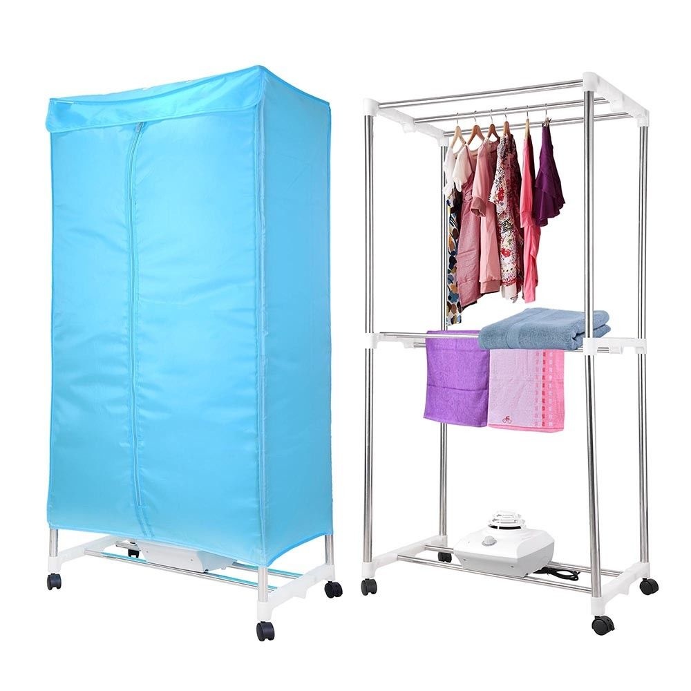 Finether Electric Clothes Dryer Portable Wardrobe Machine drying Camping RV Dorm Apartment Folding Efficient