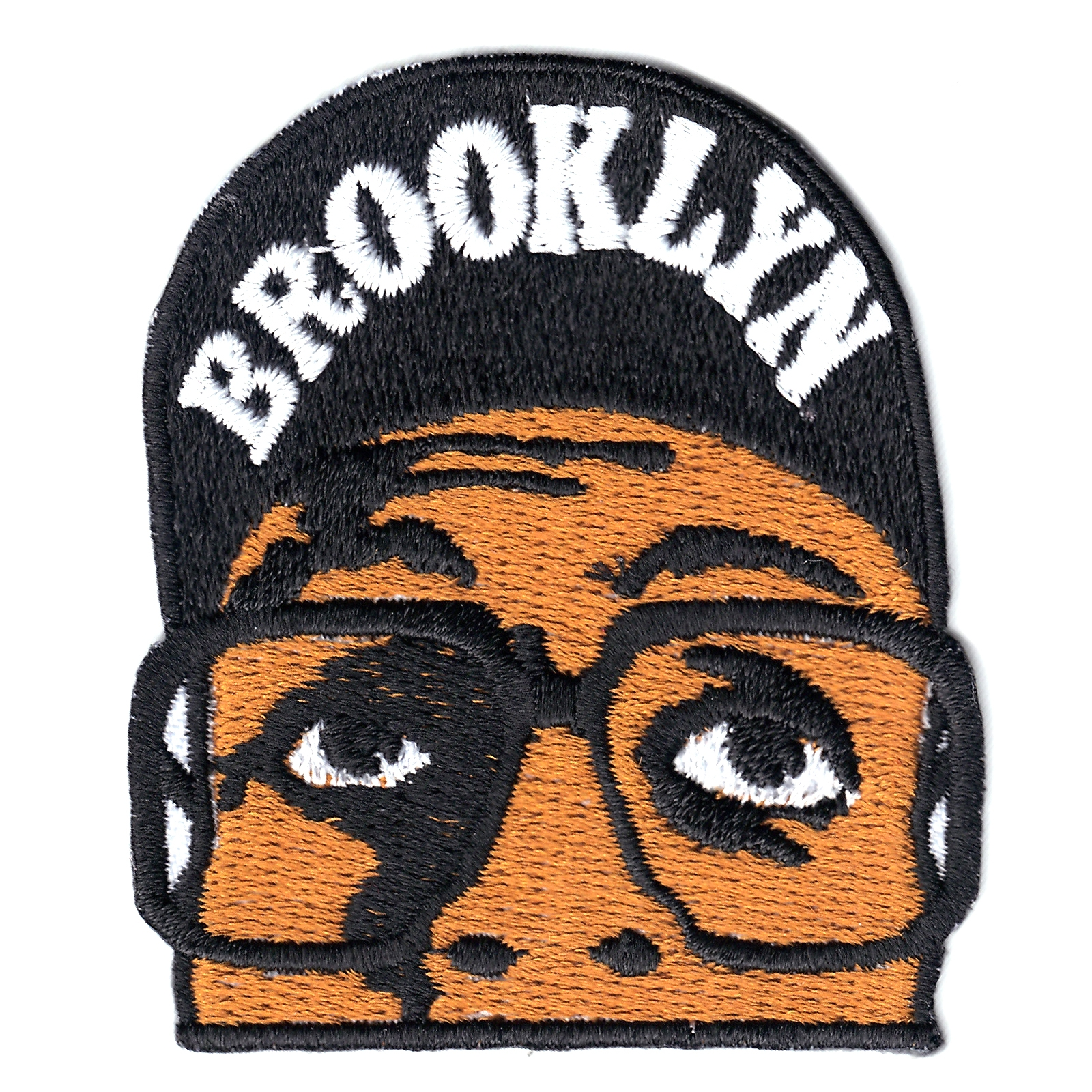 Brooklyn Basketball Player Iron on Patch