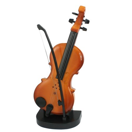 Battery power simulation mini violin shape music box for children battery power simulation mini violin shape music box for children kids brown ccuart Image collections