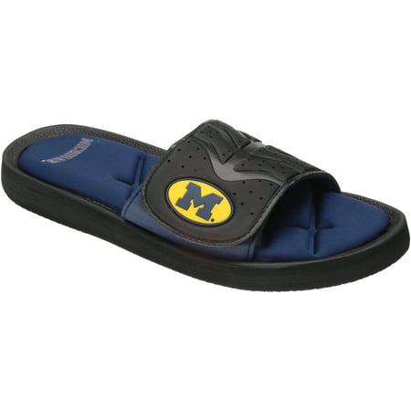 Collegiate Footwear Michigan Sandals 1 pr Pack