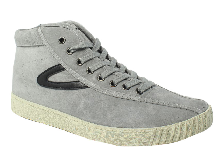 Tretorn Mens Gray High Top Casual Shoes Size 10 New by Tretorn