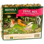 Birdola Trail Mix Junior Seed Cake 6.9 Ounces, Hearty Blend For Wild Birds