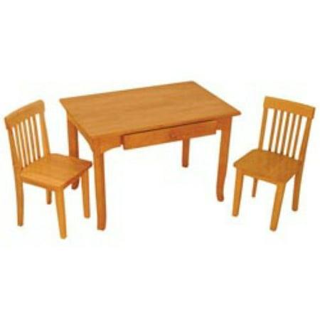 Kidkraft avalon table and 2 chair set for Table kidkraft