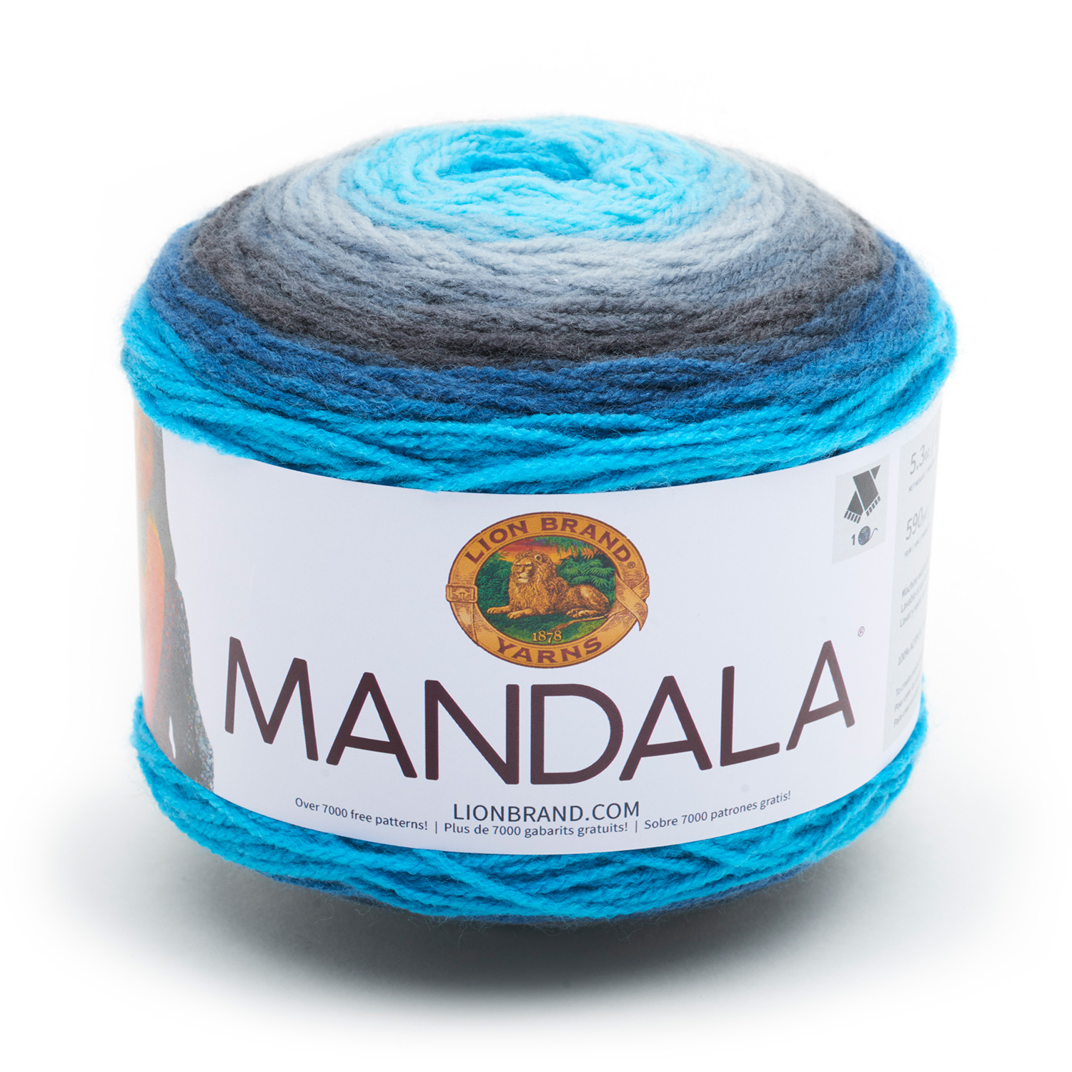 Lion Brand Mandala Fashion Yarn, Spirit