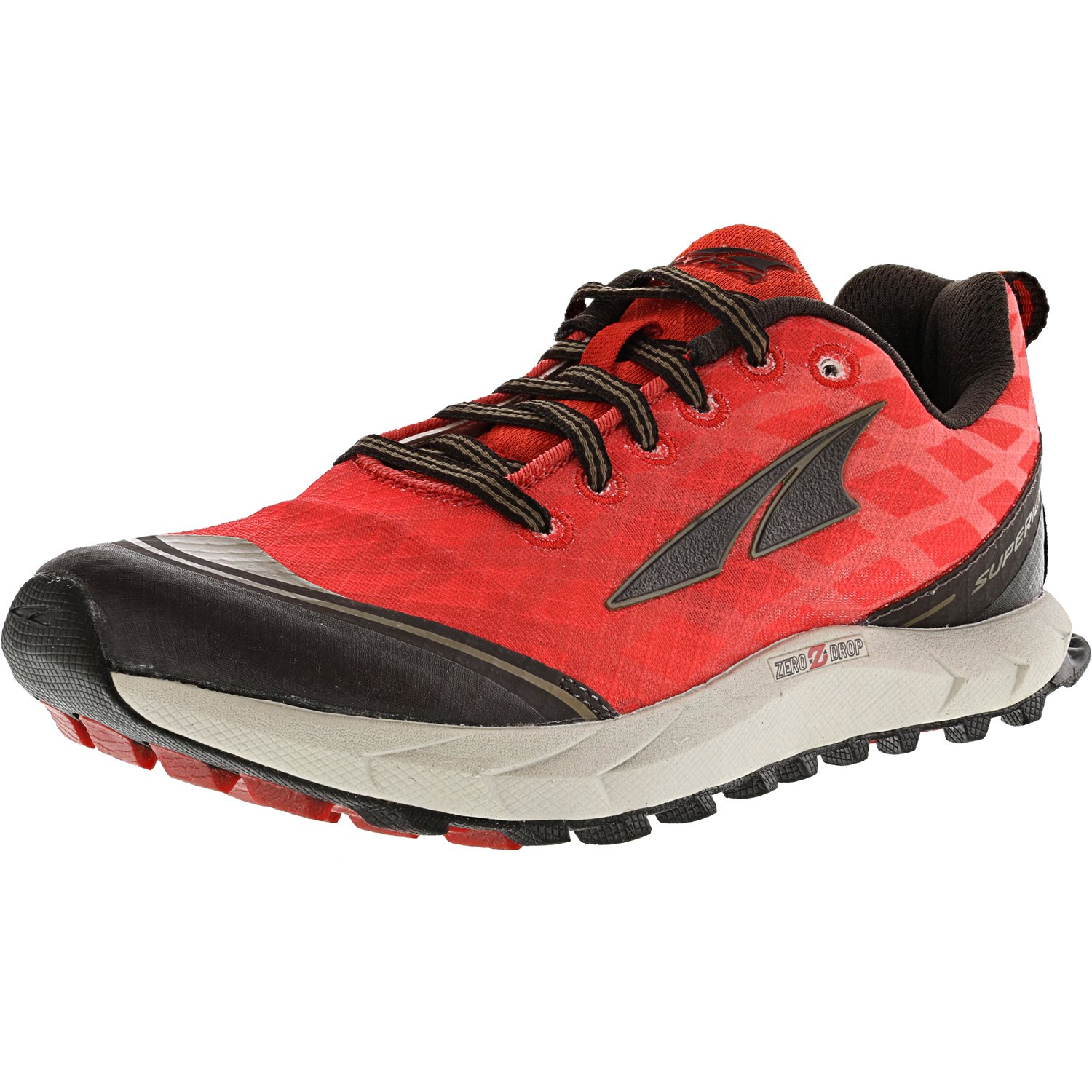 Altra Men's Superior 2.0 Poppy Red / Chocolate Ankle-High Running Shoe - 5.5M
