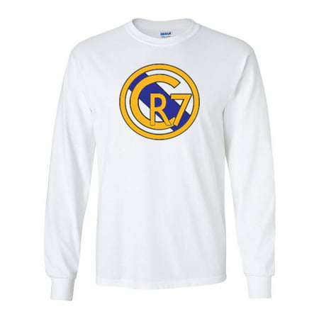 quality design 6b52e 50520 LONG SLEEVE Shedd Shirts White Cristiano Ronaldo Real Madrid