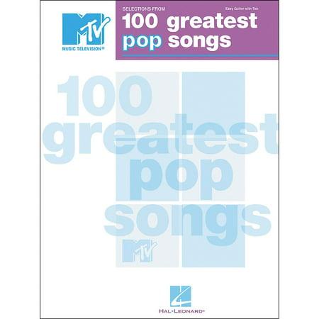 Hal Leonard MTV 100 Greatest Pop Songs Easy Guitar Tab Songbook
