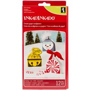 Inkadinkado Christmas Paper Sculpture Ornament