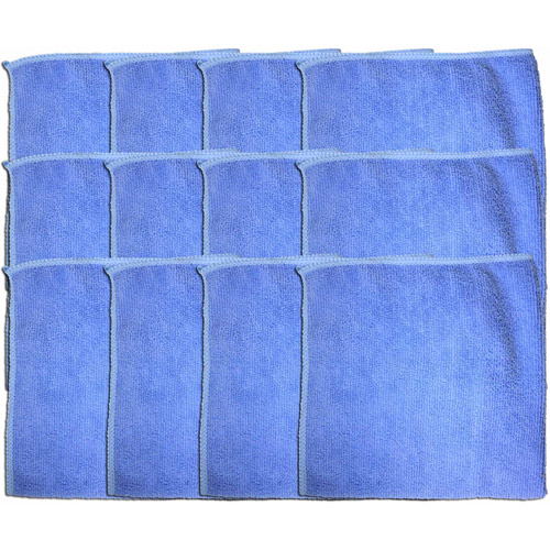 Clean-Rite 3-512 Microfiber Cleaning Cloths, 12pk