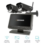 "Best Wireless Security Cameras - Defender PhoenixM2 Digital Wireless 7"" Monitor DVR Security Review"