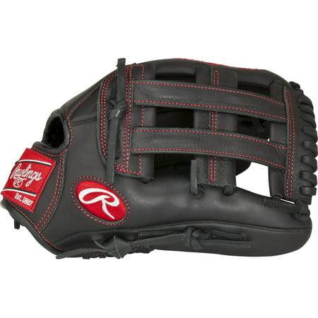 Black Baseball Glove - Rawlings Gamer Youth Pro Taper Series Baseball Glove