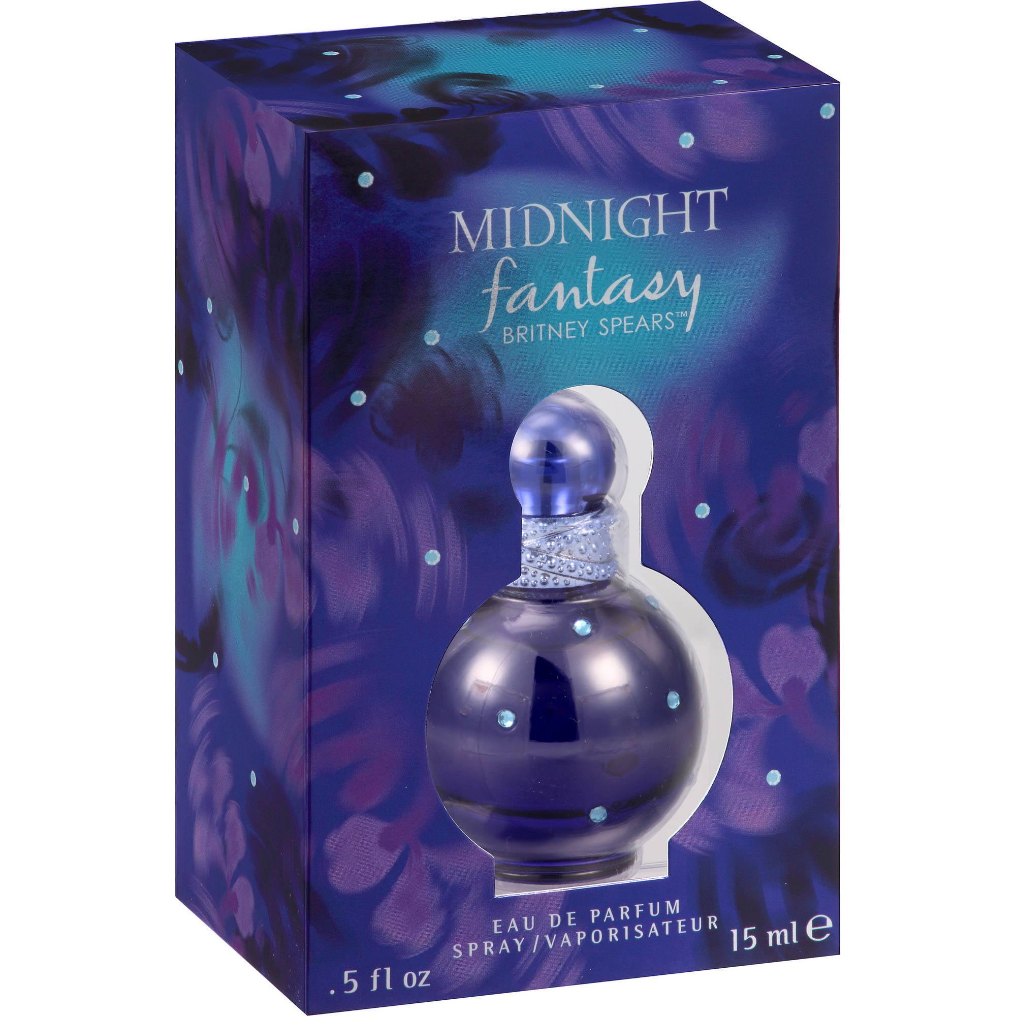 Britney Spears Midnight Fantasy Eau de Parfum Spray, 0.5 fl oz