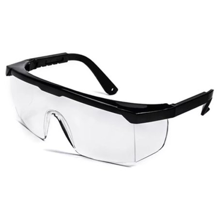 Safety Glasses with Full Front, Side and Top Protection - Meets ANSI (Ansi Z87 Safety Shooting Glasses)