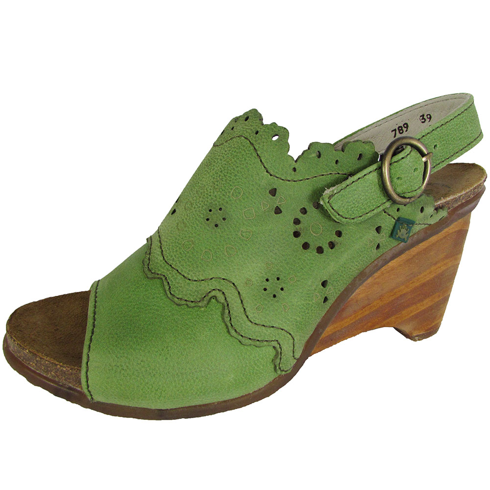 El Naturalista Womens N789 Vereda Wedge Sandal Shoes