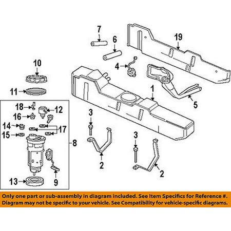 dodge chrysler oem 94-97 ram 1500 fuel system-outlet assembly grommet  5217802 - walmart com