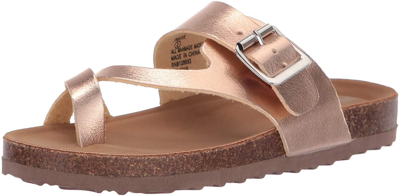 Steve Madden Girls' JWAIVE Flat Sandal