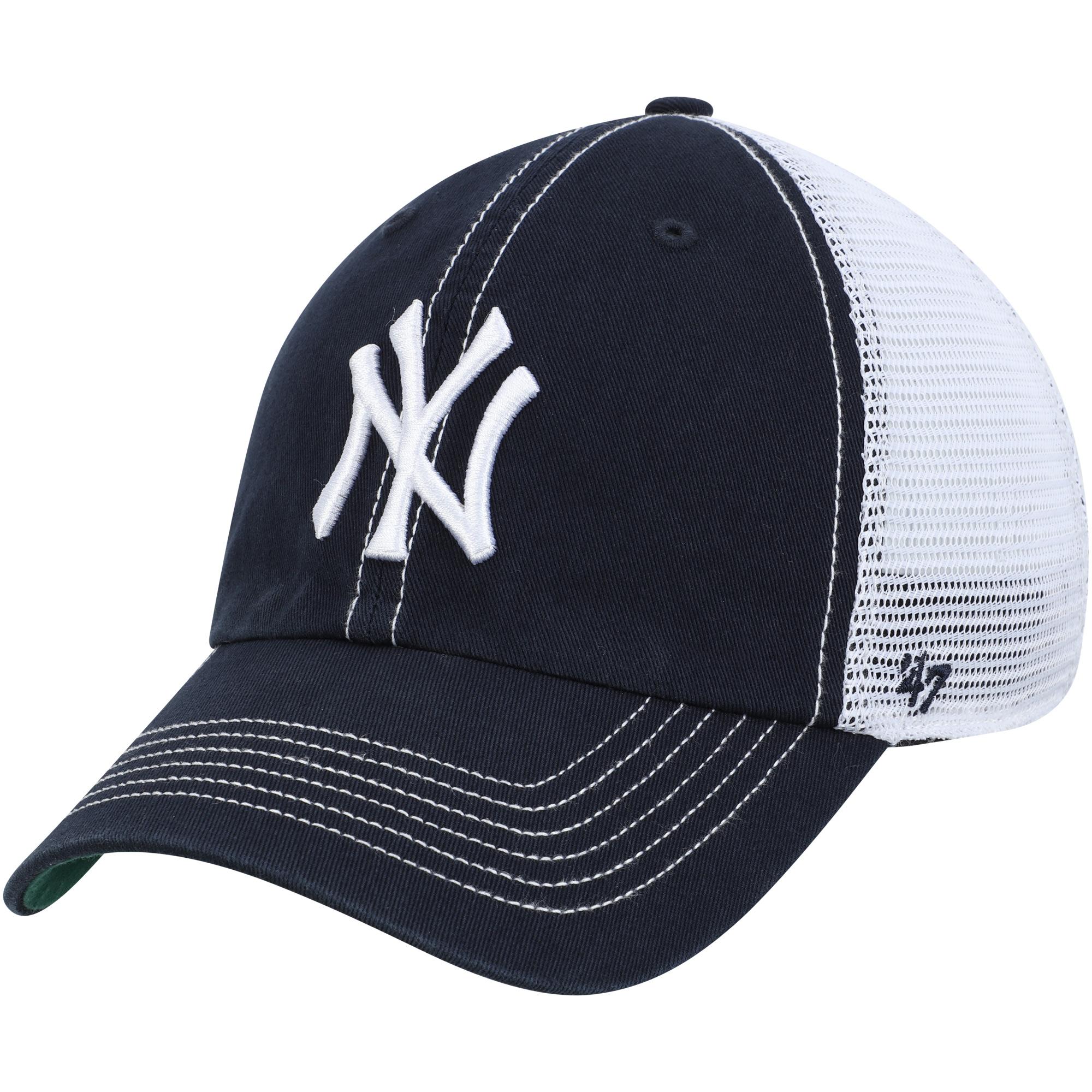 New York Yankees '47 Trawler Clean Up Trucker Hat - Navy - OSFA