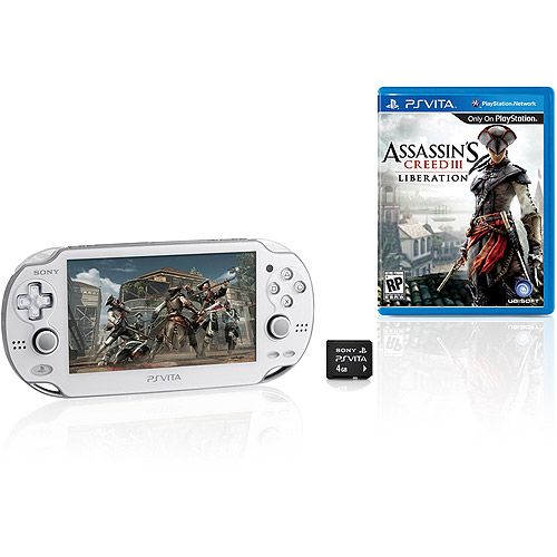 Playstation Vita W/ Wi-fi (white) And As