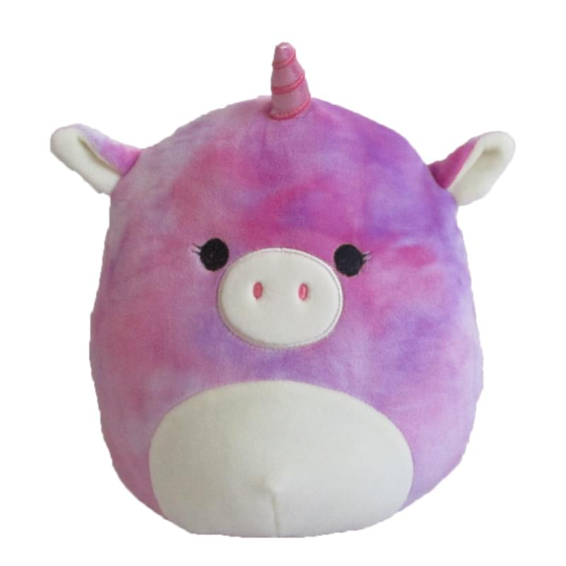 """7/"""" Lola The Tie Dye Unicorn Squishmallow Kellytoy 7/"""" Plush Doll"""
