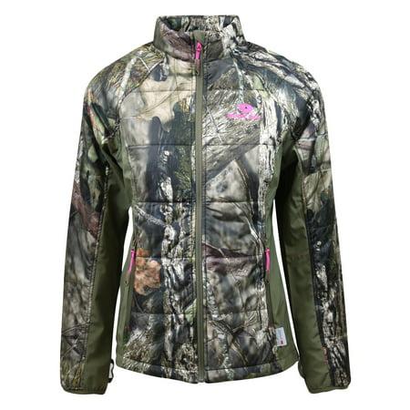 Insulated Jacket Avocado (Mossy Oak Women's Insulated Jacket )