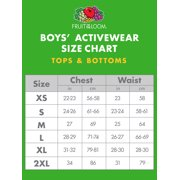 Boys Long Sleeve Crew T Shirt With Rib Cuffs