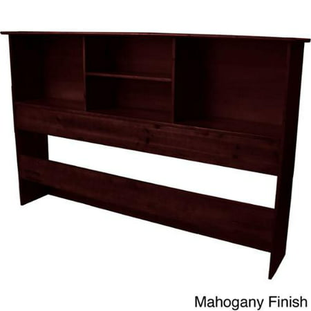 scandinavia solid wood bookcase headboard queen size with. Black Bedroom Furniture Sets. Home Design Ideas