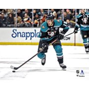 Ryan Getzlaf Anaheim Ducks Unsigned Mighty Ducks Alternate Jersey Skating Photograph