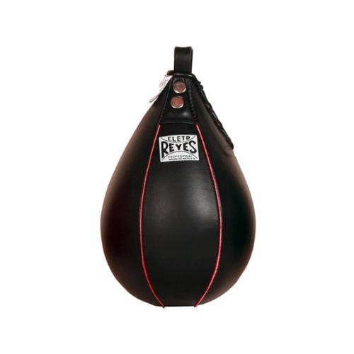 Speed Striking Leather Bag (Black Large: 11 L x 7 W x 4 H (0.8 lbs.))