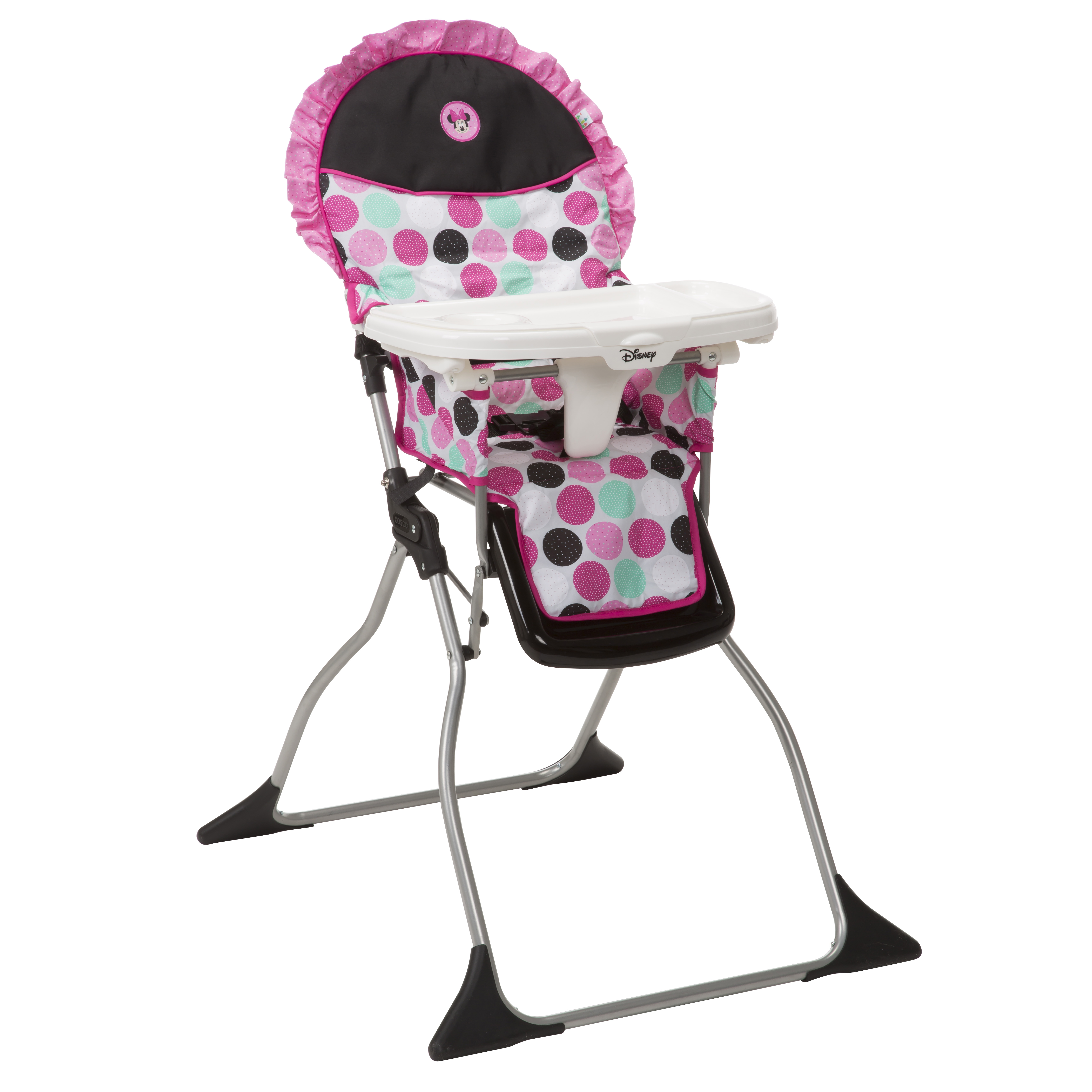Beau Disney Baby Simple Fold Plus High Chair, Minnie Mash Up   Walmart.com