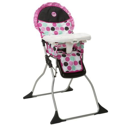 Groovy Disney Baby Simple Fold Plus High Chair Minnie Dotty Customarchery Wood Chair Design Ideas Customarcherynet