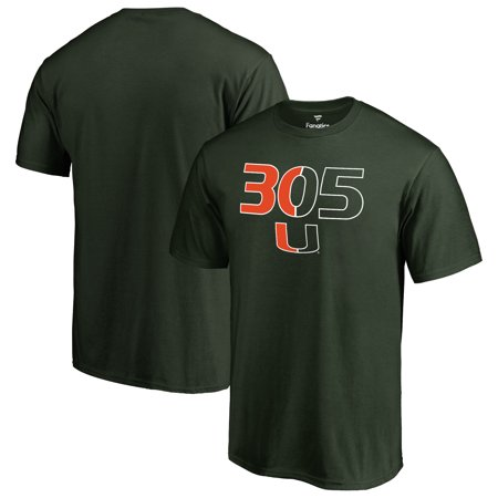 Miami Hurricanes 305 Hometown T-Shirt - Green