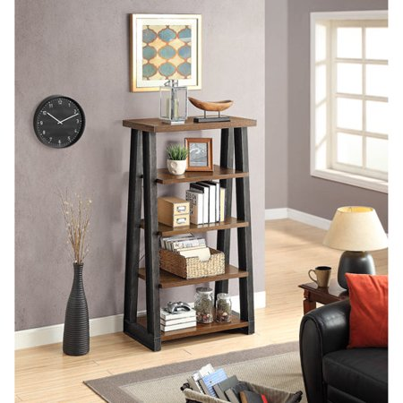 Better Homes And Gardens Mercer 5 Shelf Tower Brown