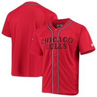 Chicago Bulls Starter Legacy Baseball Jersey - Red