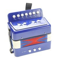 Children's Musical Instrument Accordion (Blue) PS130 Blue