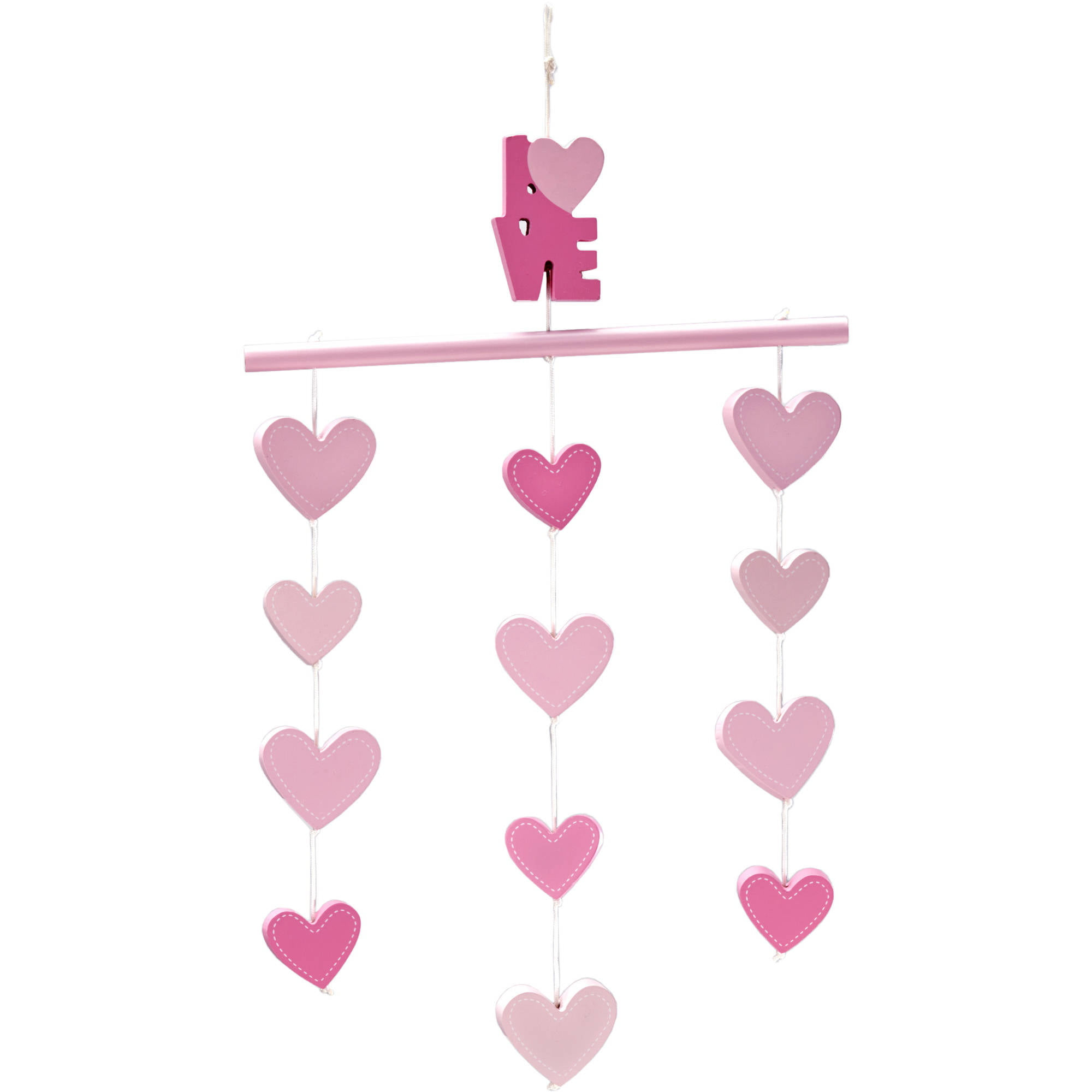 Click here to buy Little Love Ceiling Mobile, Hearts by Little Love by NoJo.