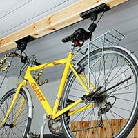New Bike Bicycle Lift Ceiling Mounted Hoist Storage Garage Hanger Pulley Rack TL28847 WC