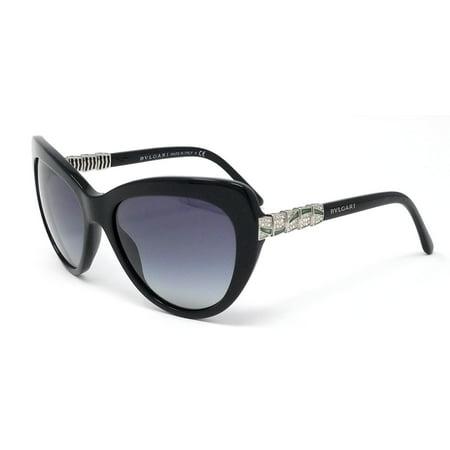 Bvlgari Sunglasses 8143B womens Butterfly black/gray gradient 5018G 55X17X135