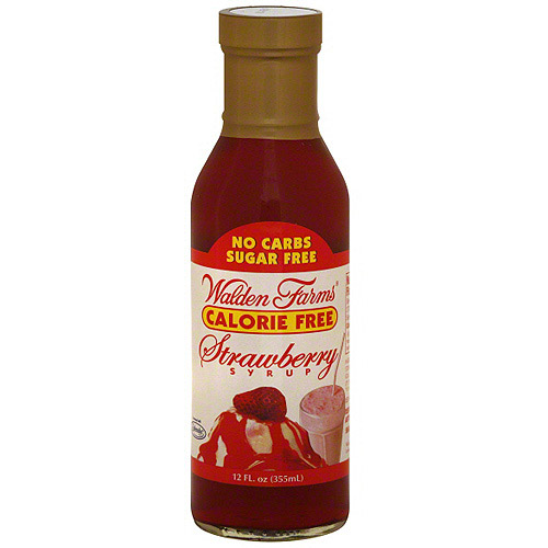 Walden Farms Strawberry Syrup,12 oz (Pack of 6)