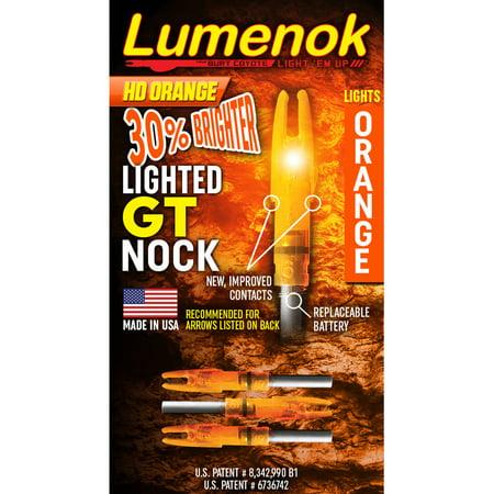Gold Tip Lumenok Arrow Nock,