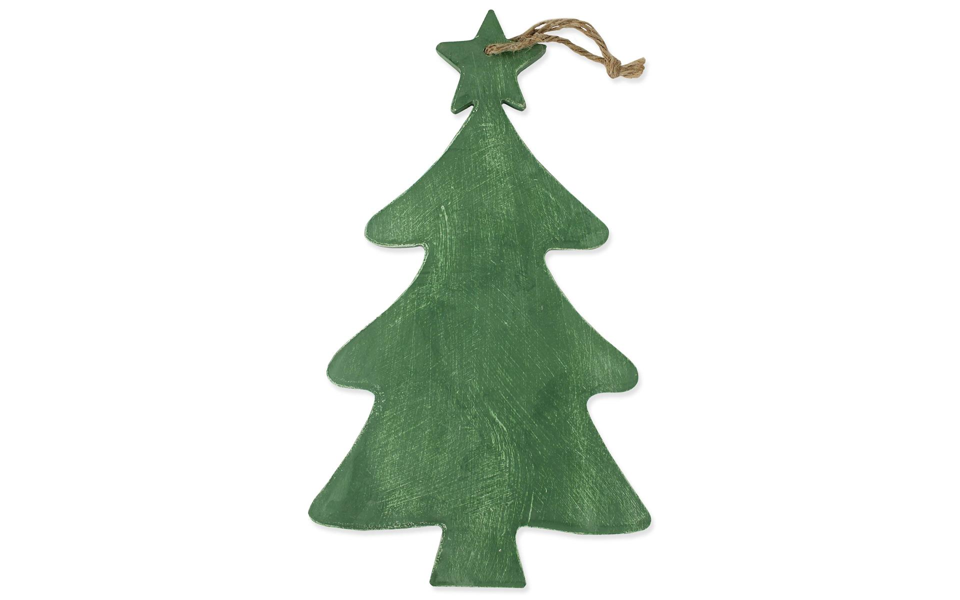 Fjl48 Spc Wood Christmas Tree W Star Hang 10 25x17 5 Grn Walmart Com Walmart Com