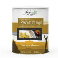 Fresh and Honest Foods Freeze Dried Passion Fruit'n Yogurt 17.6 OZ #10 Can