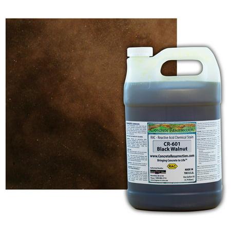 Concrete Resurrection Reactive Acid Concrete Stain Black Walnut (Drk Brown to Black) ()