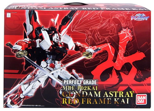 Bandai Hobby Gundam Seed Astray Red Frame Kai Perfect Grade PG 1 60 Model Kit by Bandai Hobby