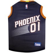 Pets First NBA Phoenix Suns Mesh Basketball Jersey for DOGS & CATS - Licensed, Comfy Mesh, 21 Basketball Teams / 5 sizes